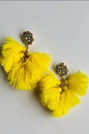 k.fisk Tassel Statement Earrings - Product Mini Image