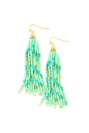 Wild Lilies Jewelry  Tassel Statement Earrings - Product Mini Image