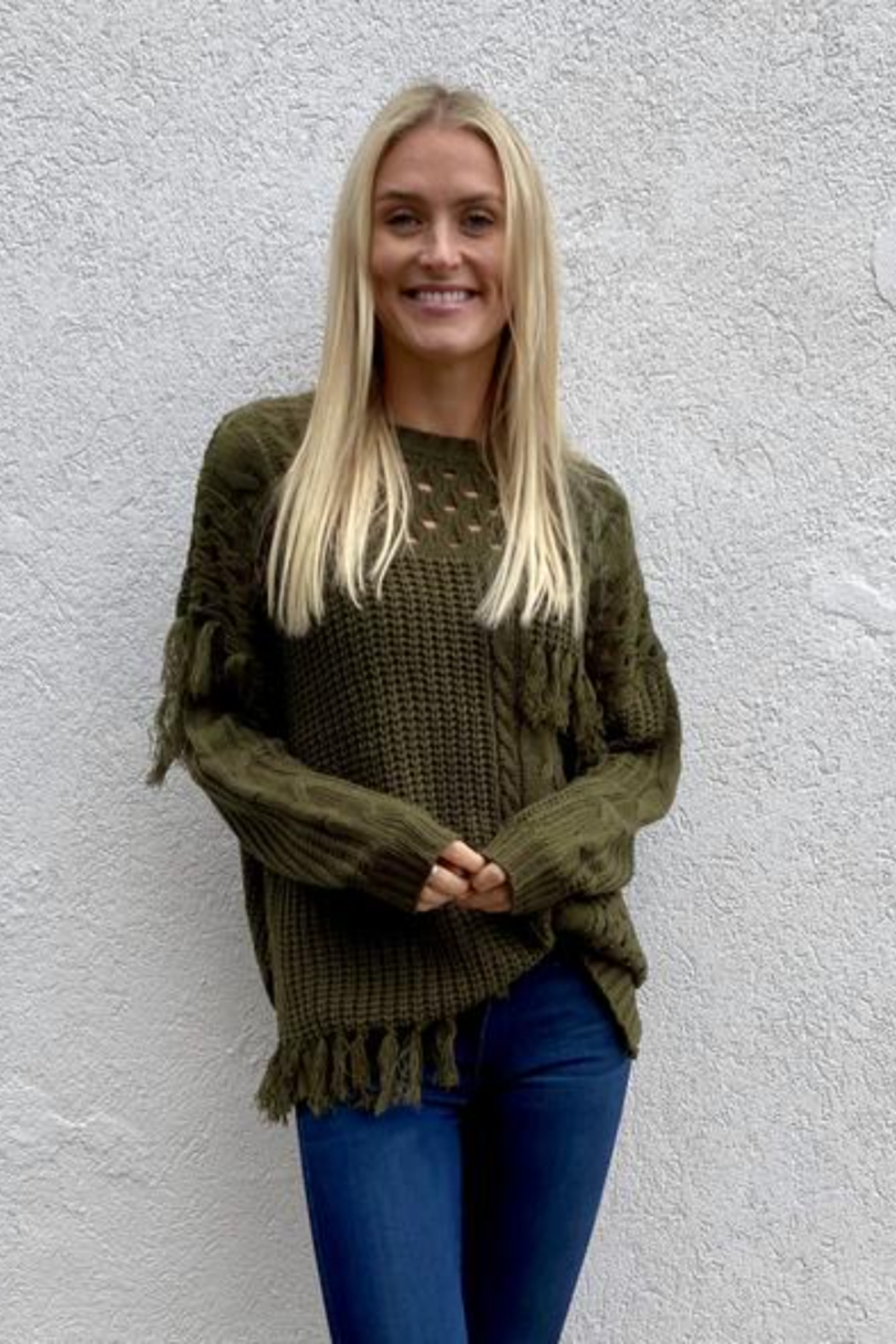 Six Fifty  Tassel Sweater - Front Cropped Image