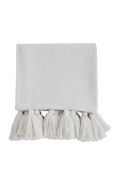Mud Pie Tassel Throw Blanket - Alternate List Image