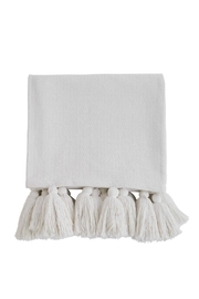 Mud Pie Tassel Throw Blanket - Product Mini Image