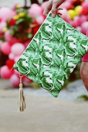 Klutch Tassel Tuck Clutch - Product Mini Image