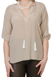 Cortland Park Tassel Tunic - Front cropped