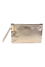 Riah Fashion Tassel-Zipper-Wristlet Cosmetic Pouch - Product Mini Image