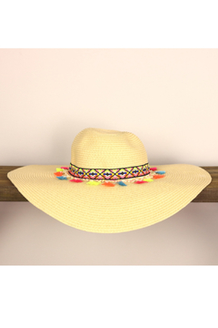 The G&G's Big Closet Tassels Aztec Sun Hat - Alternate List Image