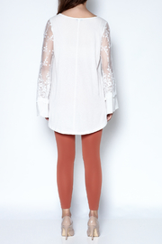 Tassels N Lace Lace Bell Sleeve Tee - Other