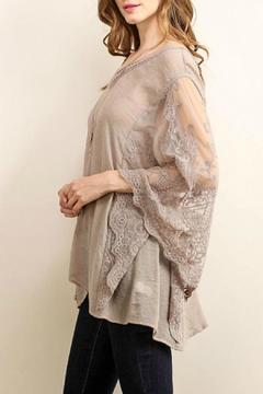 Shoptiques Product: Lace Batwing Top