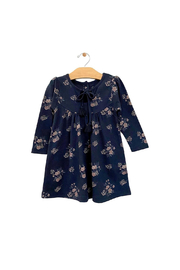 City Mouse Tassle Dress - Night Sky Hellebore - Front cropped