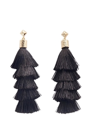 Mud Pie Tassle Earrings - Product Mini Image