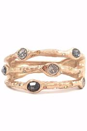 Tat2 Gold Bangle - Product Mini Image