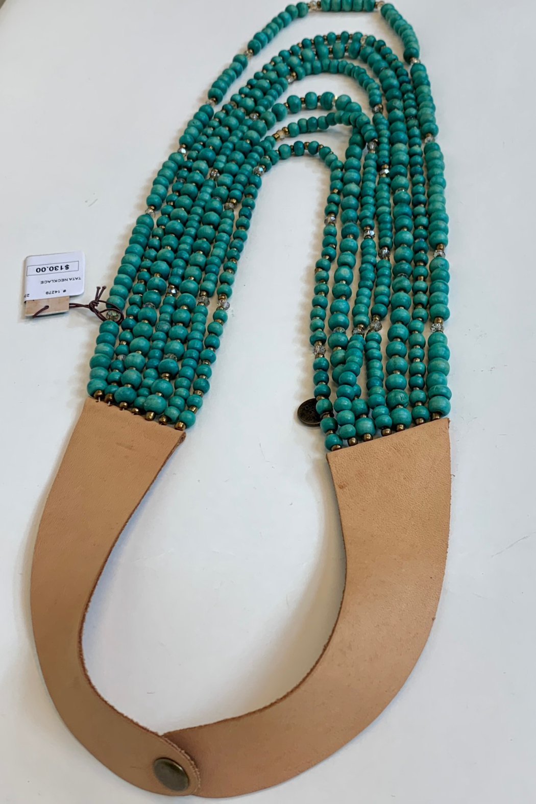 MARE SOLE AMORE TATA NECKLACE - Side Cropped Image