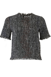 Greylin Tati Tweed Top - Product Mini Image