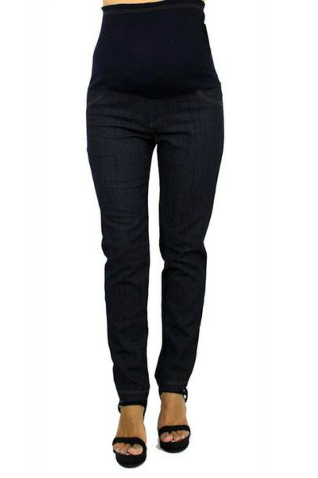 Tatiana's MATERNITY Maternity Jeans - Front Cropped Image