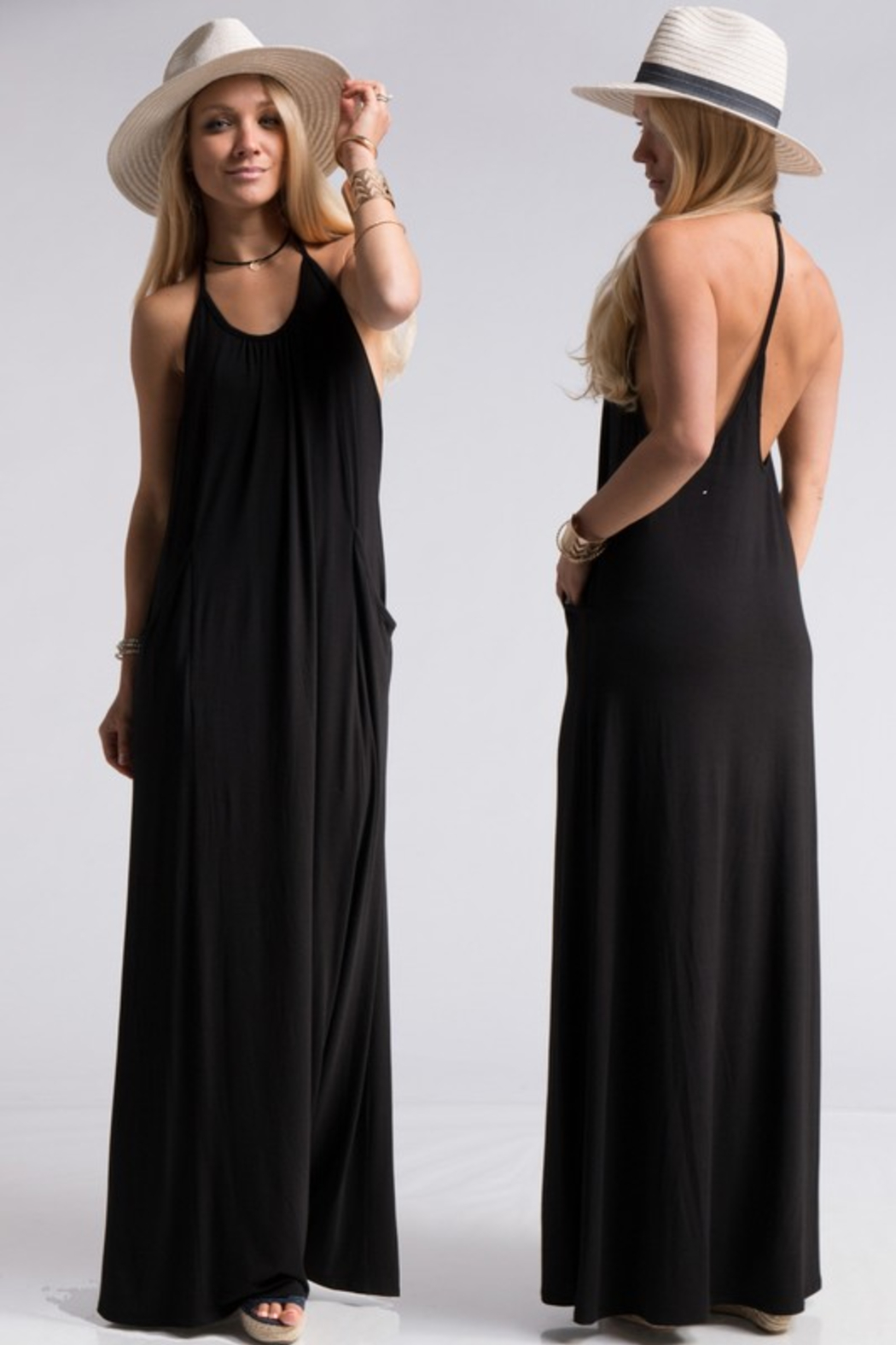R+D  Gabby T Back Maxi - Main Image