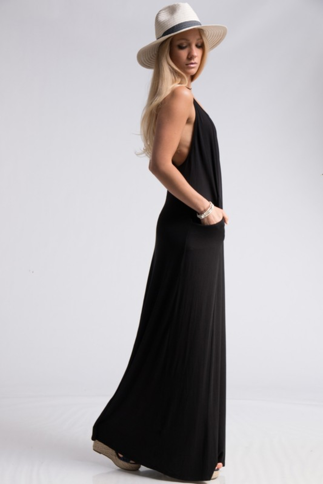 R+D  Gabby T Back Maxi - Front Full Image