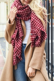 Pretty Little Things Tattersall Rectangle Scarf - Product Mini Image