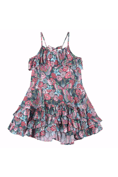 Shoptiques Product: Tattoo Flowers Frilled Dress
