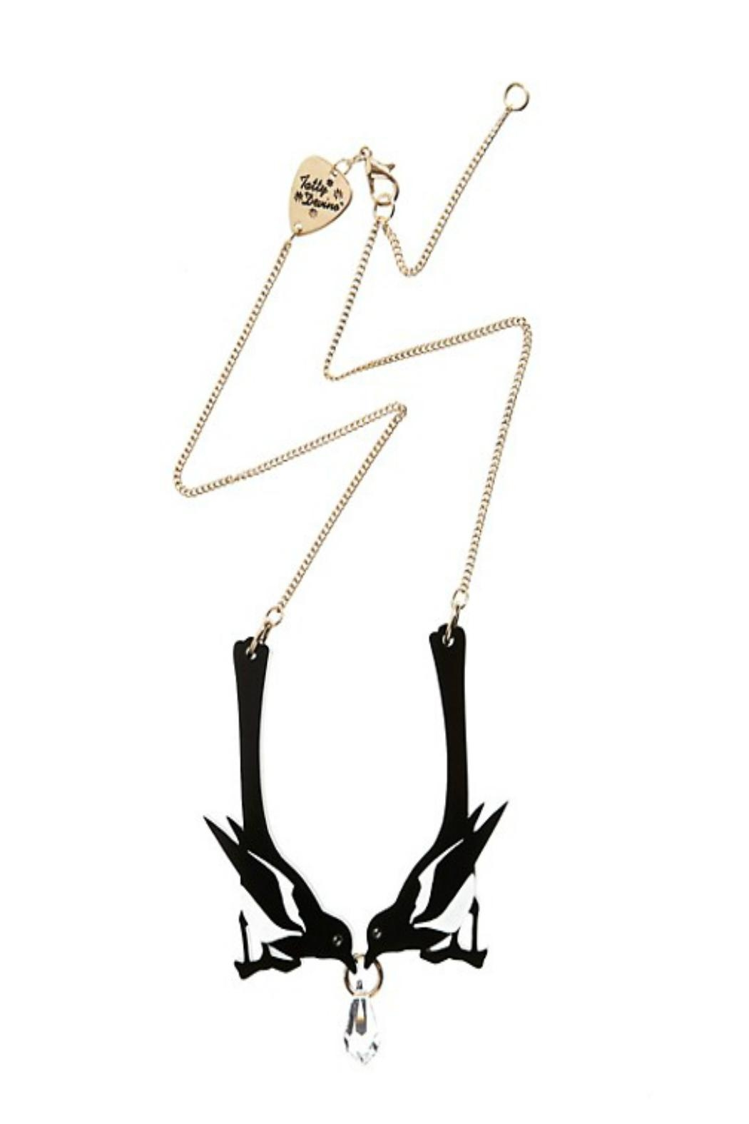 Tatty Devine Double Magpie Necklace - Main Image