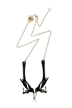 Tatty Devine Double Magpie Necklace - Product List Image