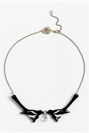 Tatty Devine Double Magpie Necklace - Front full body