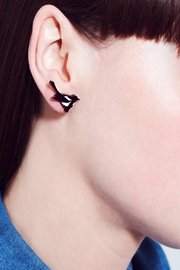 Tatty Devine Magpie Earrings - Front full body