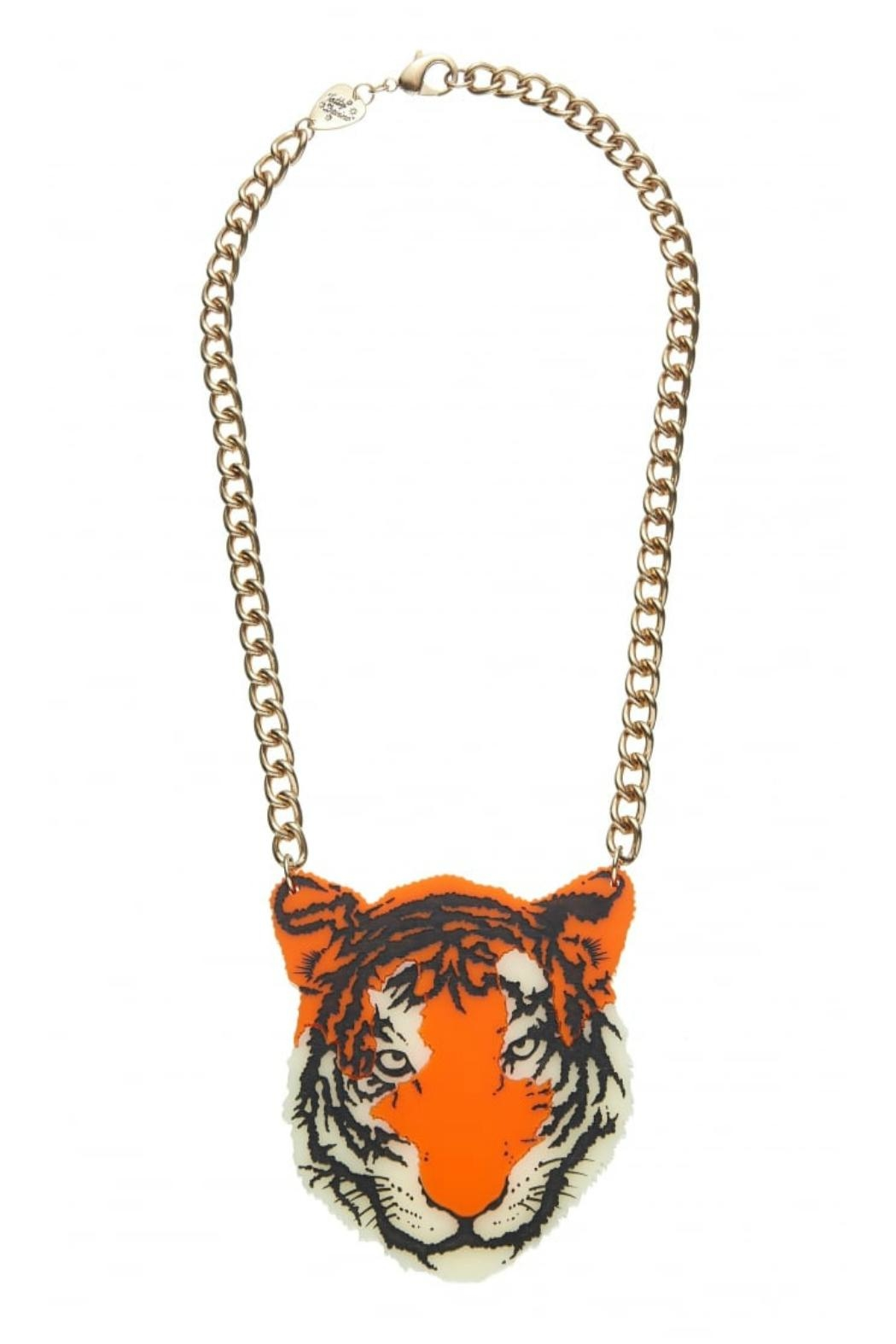 Tatty Devine Tiger Necklace - Main Image