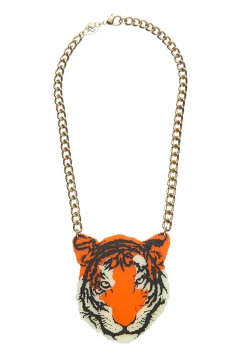 46ac04f8edae46 Tatty Devine Tiger Necklace from Crouch End by Scarecrow Boutique —  Shoptiques