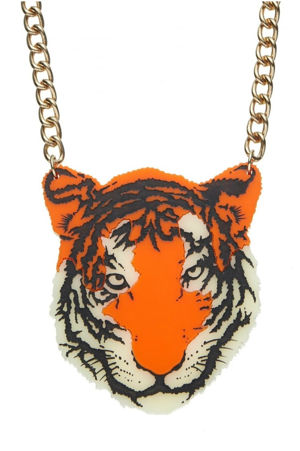 Tatty Devine Tiger Necklace - Front Full Image