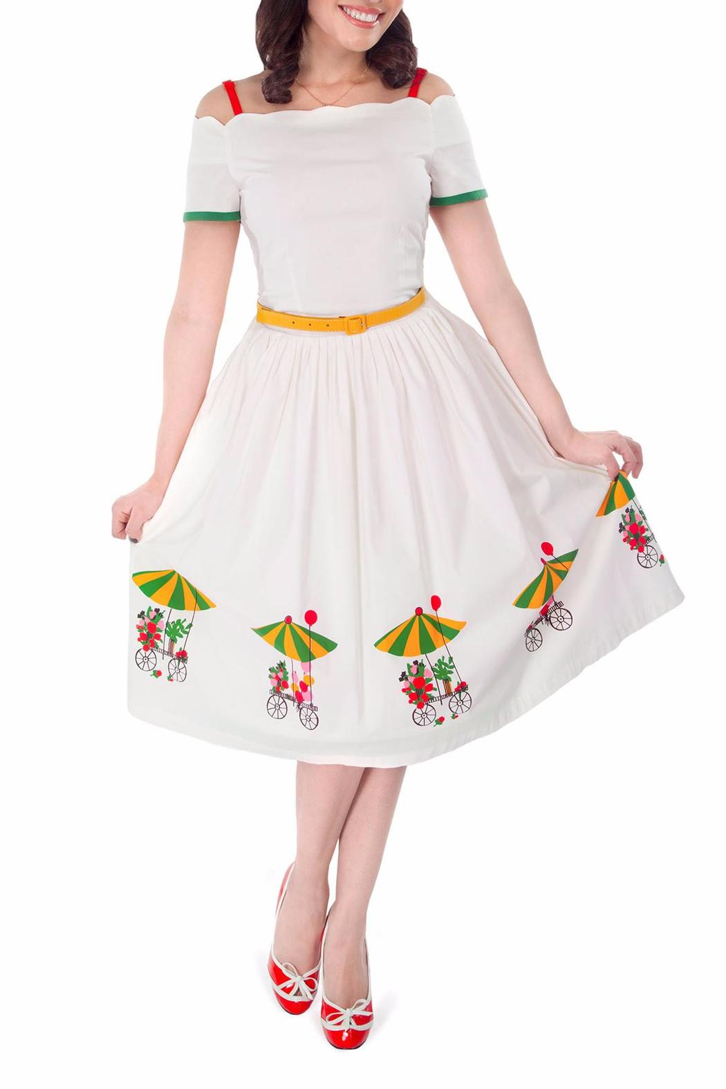 85a5d9a822 Tatyana Flower Cart Dress from Omaha by Daisy Jones  Locker — Shoptiques