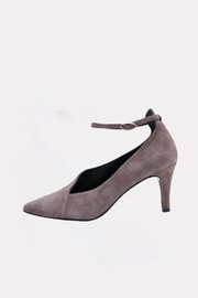 Andre Assous Taupe Asymmetrical Heel - Product Mini Image