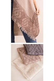 Simply Noelle Taupe Frayed Scarf - Product Mini Image