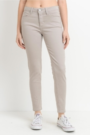 just black Taupe Gray Jeans - Product Mini Image