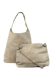 Joy Susan Taupe Hobo Bag - Product Mini Image