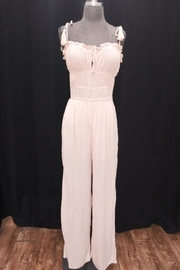 Cotton Candy LA Taupe Jumpsuit - Product Mini Image