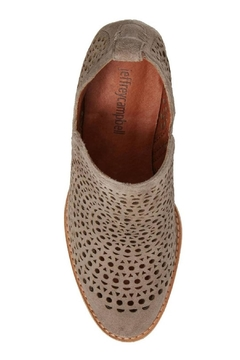 Jeffrey Campbell Taupe Perforated Booties - Alternate List Image