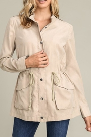 First Love Taupe Utility Jacket - Product Mini Image
