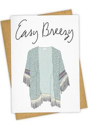 Tay Ham Easy Breezy Card - Product Mini Image
