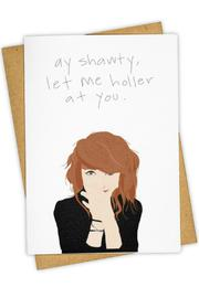 Tay Ham Let Me Holler Card - Front cropped