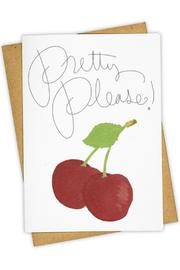 Tay Ham Pretty Please Card - Product Mini Image