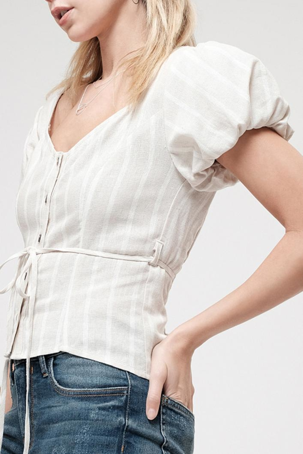 Blu Pepper Taylor Ann Top - Front Full Image