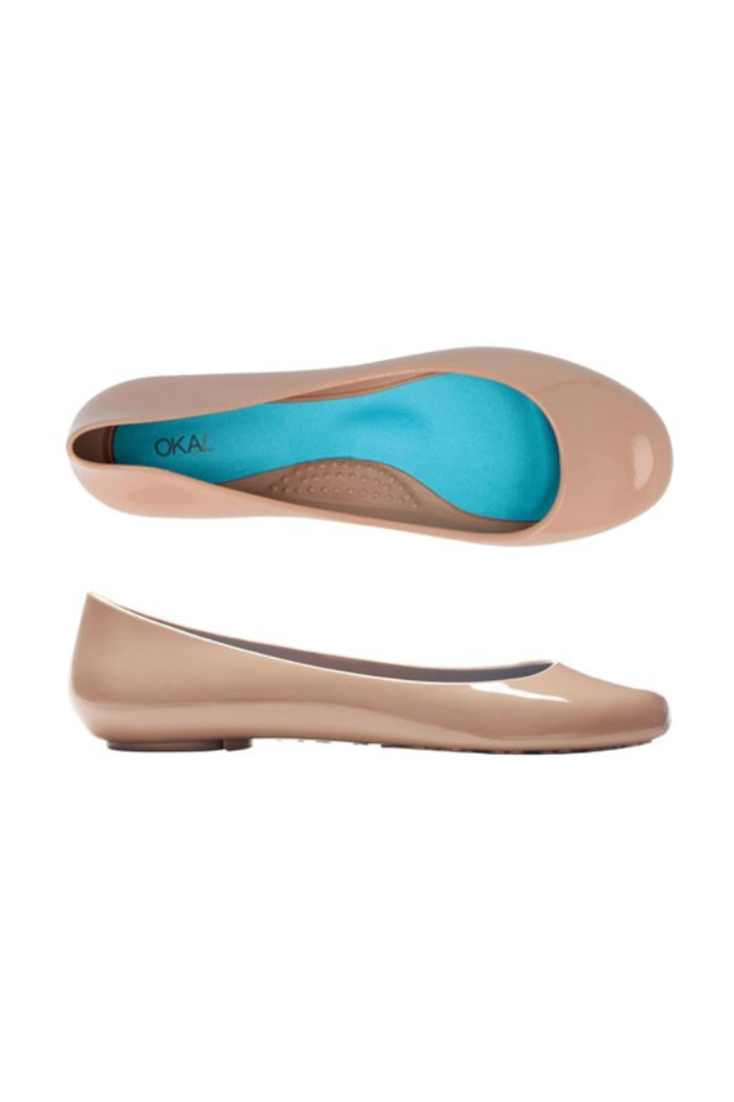 The Birds Nest TAYLOR BALLET FLATS- BLUSH SZ 8 - Main Image