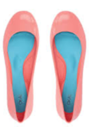 The Birds Nest TAYLOR BALLET FLATS-CORAL SIZE 6 - Product Mini Image
