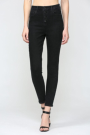 Hidden Jeans Taylor Exposed Buttons Skinny - Product Mini Image