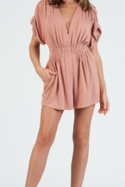 lucca couture Taylor French Terry Romper - Product Mini Image