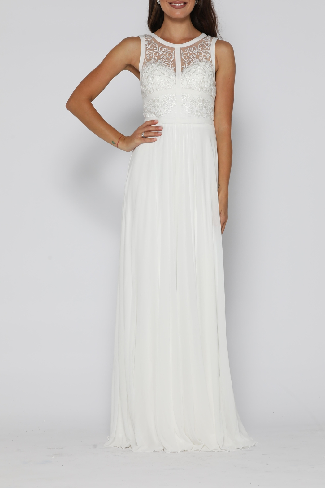 Jadore Taylor Gown Ivory - Main Image