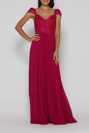 Jadore Taylor Gown Raspberry - Product Mini Image