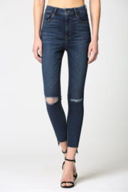 Hidden Jeans Taylor H/R 27' in Step Hem - Product Mini Image