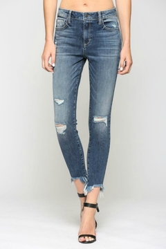 Hidden Jeans Taylor H/R with Fray Hem - Product List Image