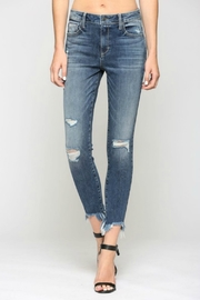 Hidden Jeans Taylor H/R with Fray Hem - Product Mini Image