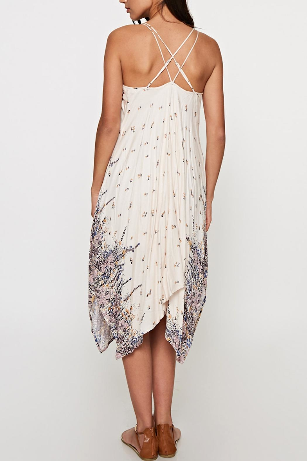 Love Stitch Taylor Handkerchief Dress - Side Cropped Image